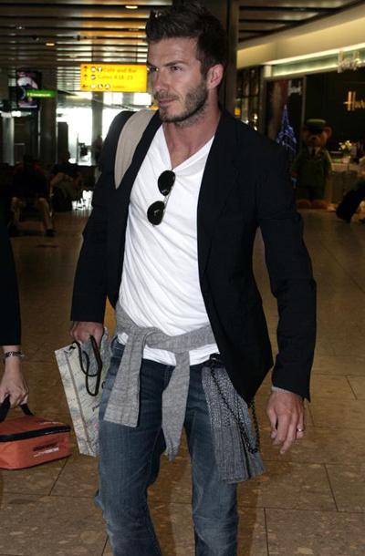 大牌儿David Beckham的穿衣