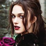 性感黑衣玫瑰