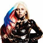 Gaga美国国旗挑染