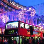 圣诞伦敦购物