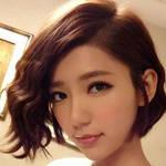 明星纹理短发