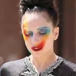 Gaga脸部涂鸦