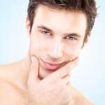 男士白皙健康肌