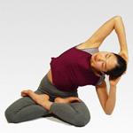 学生瘦腿瑜伽