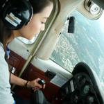 学开飞机易于汽车 时尚考驾照