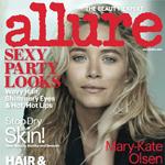 奥尔森姐妹登Allure杂志双封面