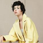 伊迪·坎贝尔《Vogue》清新大片