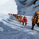 尼泊尔攀珠峰