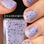 丁香紫甲油