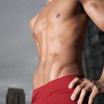 白领腹部健身法