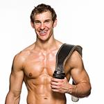 白领男士的腹部简单健身法