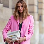 最爱粉色西服