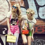超模挑战街头时尚 高街也大牌