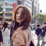王珞丹慵懒街拍