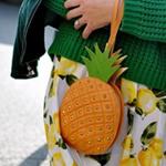 扮成一株菠萝