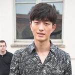 米兰男装周 韩庚郑凯同场竞艳