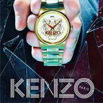 Kenzo 腕表广告片 艺术趣味
