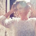 艾玛·费勒 时装大片天真优雅