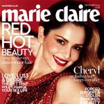谢丽尔 英版Marie Claire封面
