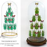 传统圣诞树改头换面 创意无限