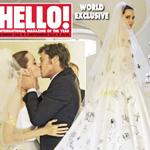 最美新娘造型 朱莉涂鸦婚纱上榜