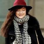 冬季帽子造型大比拼 你爱那种?