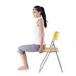 上班族福音 瑜伽瘦腿显气质