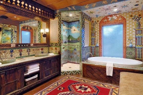 如果浴室长这样 谁还留在卧室