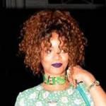 """Rihanna戴了""""掐""""着脖子的项链"""
