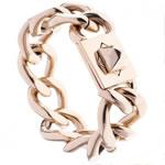 柔美与硬朗 链条珠宝的中性气质