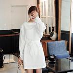 清新简约白色连衣裙  夏天就做纯净小仙女