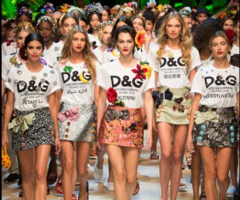 2017 Dolce & Gabbana 春夏成衣发布会