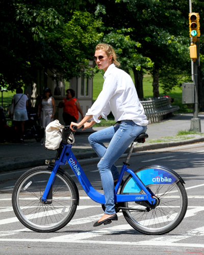 潮人、明星减肥骑单车就实现了!