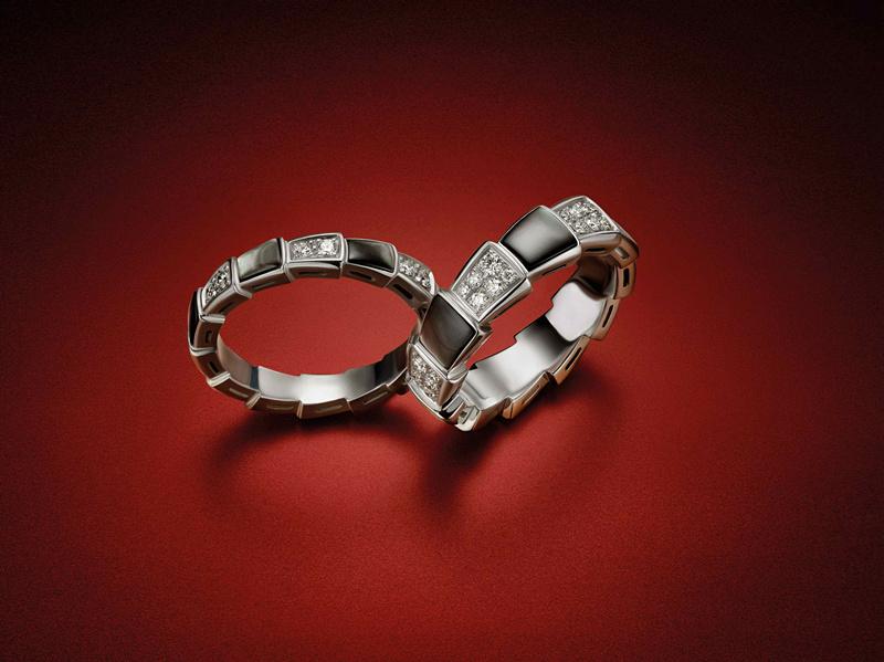 BVLGARI 宝格丽Serpenti Viper戒指系列